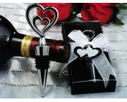 Two Hearts are Better than One bottle stopper. Item  # 1417