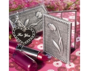 Floral Design Compact Mirror Favors  5915 fc