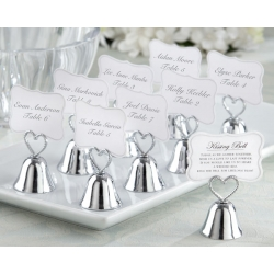 Kissing Bell Place Card Photo Holder (Set of 24) 12006NA