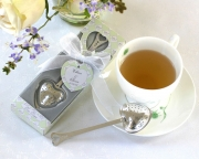 Tea Time Heart Tea Infuser  in  Tea-Time Gift Box 13003NA