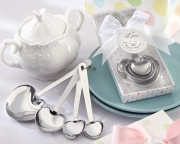 Love Beyond Measure Stainless-Steel Measuring Spoons Baby Shower Favor 13028NA