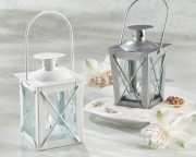 Silver Luminous Wedding Birthday Bridal Shower Mini-Lantern Favors 14006SV