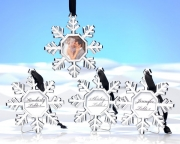 Snowflake Place Card Holder/Ornament (Set of 4) 14033NA