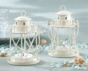 By the Sea Lighthouse Tea Light Holder 14037WT