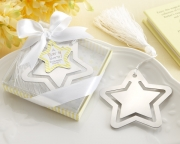 A Star is Born! Metal Bookmark with White-Silk Tassel 14059NA