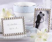 Silver Pearls Mini Photo Frame 14061NA