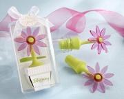 Blooming Flower Bottle Stopper in Whimsical Window Gift Box 18022PK