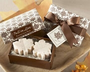 Fall in Love Scented Leaf-Shaped Soaps 21023NA