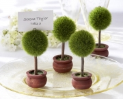 Topiary Photo Holder/Place Card Holder (Set of Four) - As Seen in InStyle Magazine 22011GN