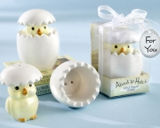 About to Hatch Ceramic Baby Chick Salt & Pepper Shakers 23017WT