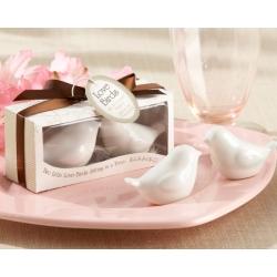 Lovebirds in the Window Ceramic Salt & Pepper Shakers 23033WT