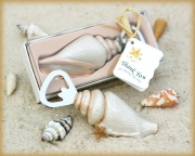 Shore Memories Sea Shell Bottle Opener with Thank you Tag 25004NA