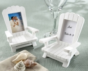 Beach Memories  Miniature Adirondack Chair Place Card/Photo Frame (Set of 4) 25043WT