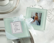 Forever Photo Frosted Glass Coasters 27011NA