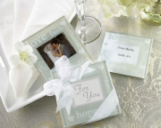 Good Wishes Pearlized Photo Coasters 27015NA