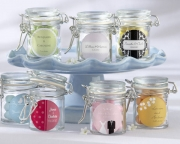 Personalized Glass Favor Jars (Set of 12) 27037NA