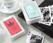 Perfectly Suited Playing Cards in Personalized Travel Case 28105NA