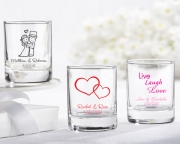 Personalized Shot Glass/ Votive Holder 30003NA