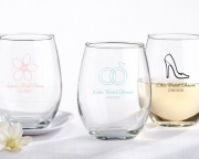 Personalized Stemless Wine Glass 30009NA