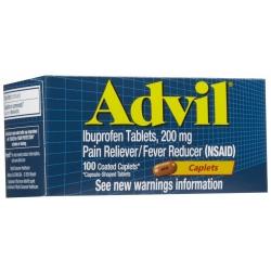 Advil Caplets 100 ct