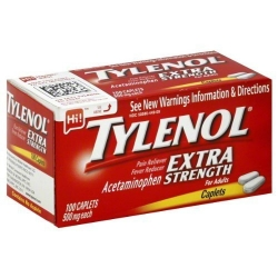 Tylenol Extra Strength Caplets 100 ct